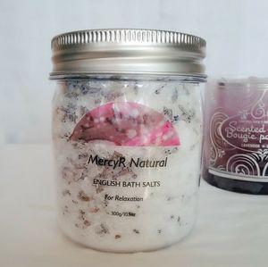 🌹2/$18 English Bath Salts
